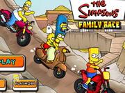 سباق عائلة سيمبسون